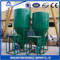 2015Best selling high quality cattle feed mixer/livestock feed grinder