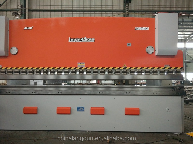 metal sheet hydraulic bending machine with laser protection for window frame
