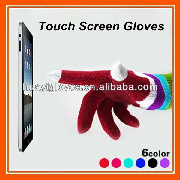 Smartphone Finger Touch Screen Magic Gloves