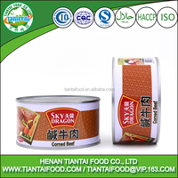 safe food corned beef, canned halal meat