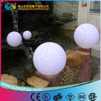 Outdoor large Christmas illuminated LED lighted ball / color flashing waterproof LED floating light ball