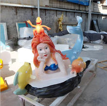 Fiberglass Mermaid Sculpture