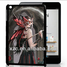 Original factory price 3D case for ipad mini with 3D sticker,back cover for ipad