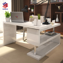 T Corner L Shaped Student Folding Adjustable Rotating Executive Laptop Computer Study Table Desk