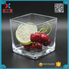 Manufacturers 300ml wholesale clear glass vase wedding centerpiece