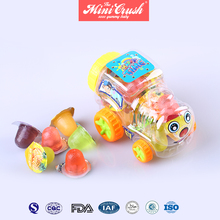 Plastic Strawberry / Orange / Grape / Apple / Lychee Fruit Flavor Jelly Cup