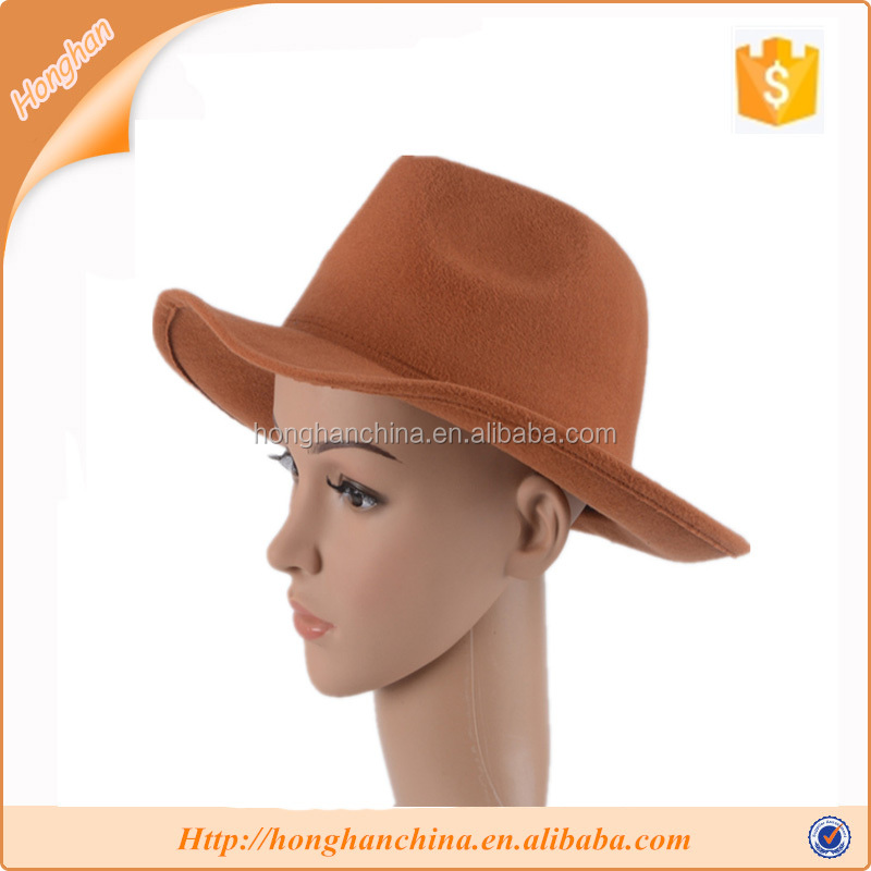 Design your own cowboy hat winter special fedora hat