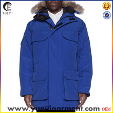men down fur coat parka with fur hood for winter wholesale