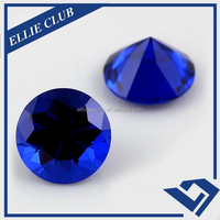 Blue gemstone names of round shape 5mm loose spinel stone