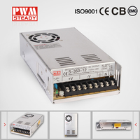 S-350-15 350W 15V constant voltage led driver AC input DC output switch mode single output power supply with ce