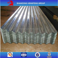 Zinc Gi Galvanized Steel Roofing Sheet Sizes