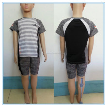 Hot Selling Summer Boy's Short Pants Set, Short Sleeve T shirt Clothing Sets, Casual Kids Summer Soft Clothing Sets