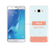 Ultra slim soft plastic epoxy case cover for samsung galaxy j7 j700