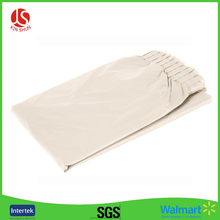 Special Custom Cream Color Disposable Table Skirt, Self-Adhesive