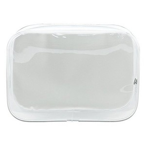 Waterproof clear PVC vinyl travel toiletry cosmetics wash pouch cosmetic bag