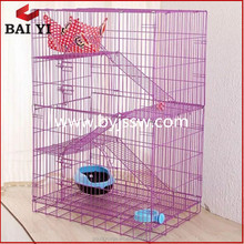 Beautiful 2 - 3 Tiers PVC Cat Cage And Outdoor Cat House