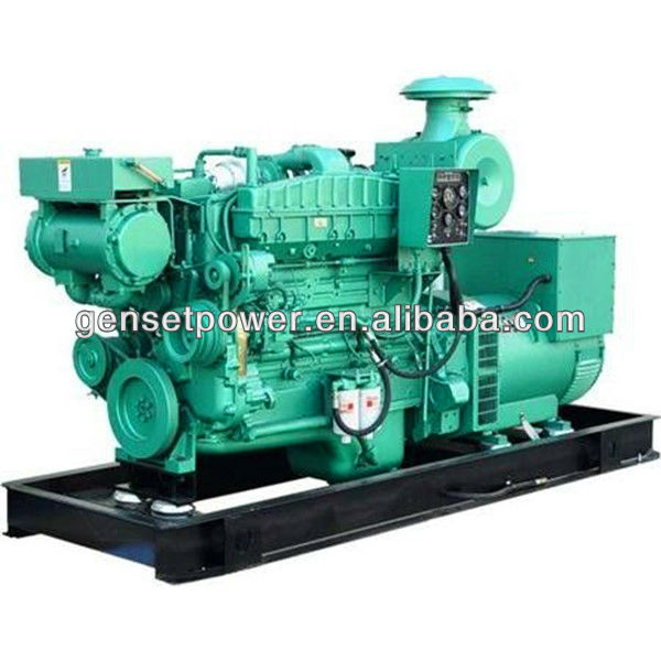 60kva to 500kva Marine Diesel Engine And Generator Set