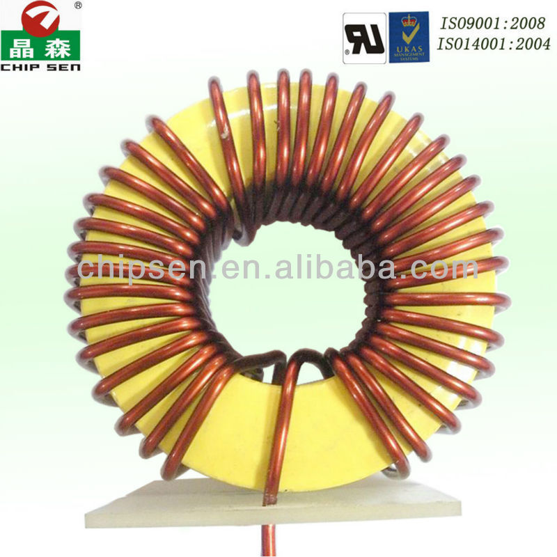 Induction Coil with Excellent Current Choking Performance and Small Volume