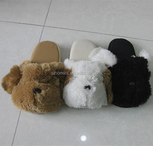 cheap wholesale and comfort gel fuzzy animal slipper