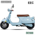 COC available 2000W electric scooter with 60V lithium battery