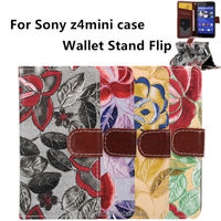 hot mobile phone holster for sony xperia z4mini wallet frame z4 mini case new products 2015 innovative product factory direct