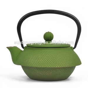 wholesale cast iron teapots 0.5L with little bits