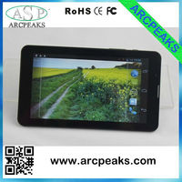 7inch elegant slim tablet 3g sim card slot