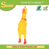 Hot sale cheap pet toys for dog shrieking chicken