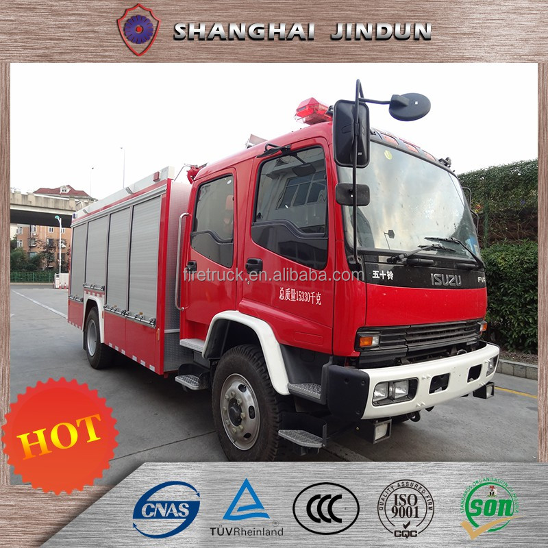 Advanced technology stainless steel Recovery Truck Fire Fighting Vehicle