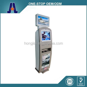 Touch screen kiosk price/touch screen self-service terminal kiosk/touch screen kiosk enclosure (HJL-3313)