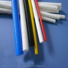 wholesale silicone coated fiberglass heat resistant braid sleeves