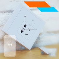 wifi wireless remote wall socket / phone app remote control timer switch socket 86 Universal switch