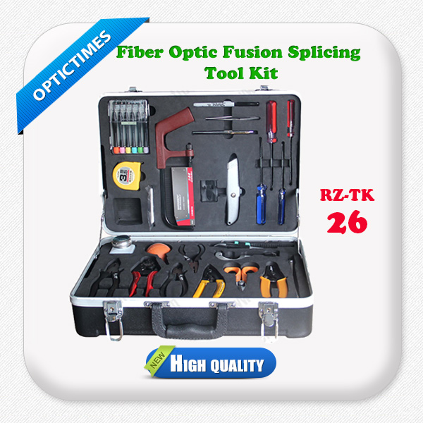 High quality fiber Optical cable fusion splicing machine Tools kit tester