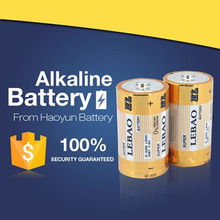 Pro-environment cheap AA AAA LR20 C 6LR61 9V 1.5V alkaline battery D size of battery prices