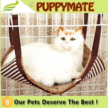 2016 Hot sale breathable pet bed, fancy cat beds, hanging hammock swing beds