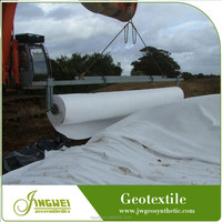 High strength building and engineering road fabric reinforced geotextile nonwoven