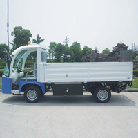 Electric flatbed tow truck with lift DT-12