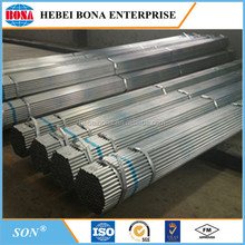 Best Selling Galvanized Welded Carbon Steel Pipe