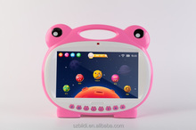 7 inch laptop computer kids Tablet Google Quad Core Android 5.1 with games Learn Grow Play Kids Education PC Tablet