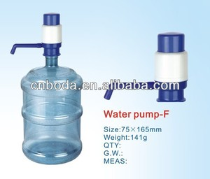 bottled drinking hand manual water pressure test pump
