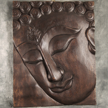 Indoor And Home Decor Metal Craft Bronze Wall Sculpture Buddha Relief
