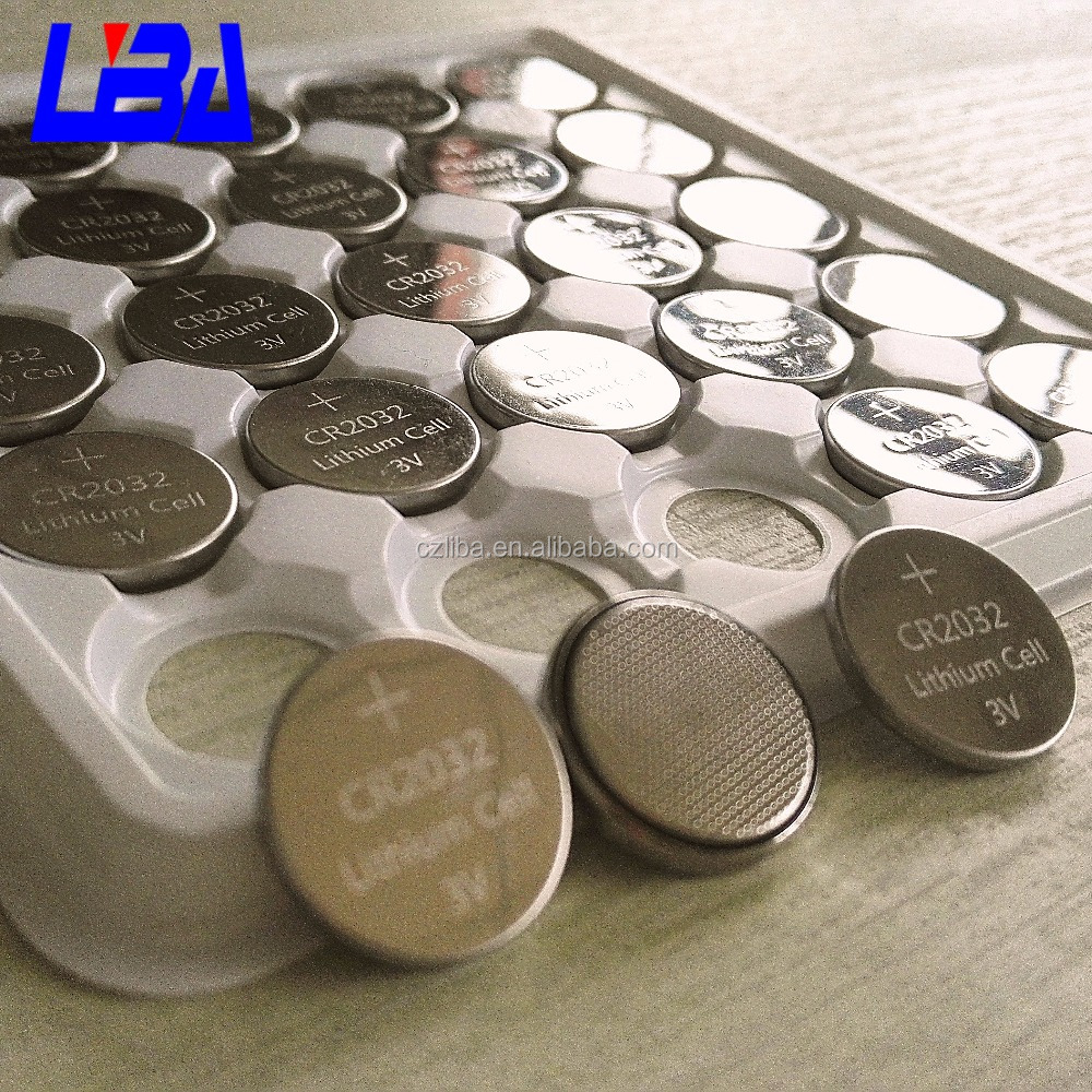 Hot sale Lithium button cell cr 2032 battery 3V coin cell CR2032 watch batteries