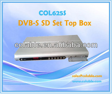 COL625S decoder digital cable tv,satellite rf receiver,dvb-s stb