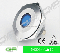 CMP 30mm metal panel led signal lighting lamp ,metal waterproof indicator light pilot lamp TUV CE