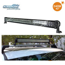 Low power consumption two row 3w Cree Epistar chip 12v led light bar offroad