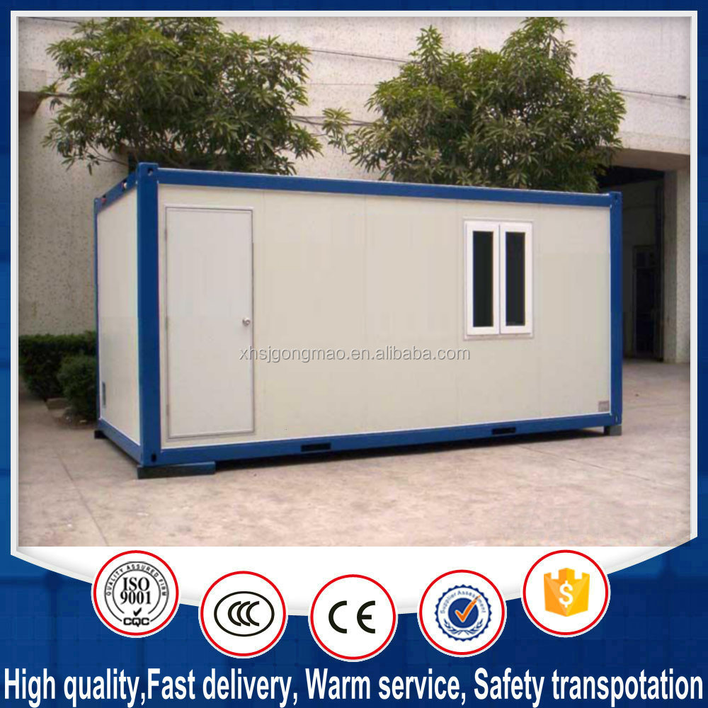 Fast steel construction modular container apartment house