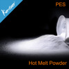 Kenteer 80-170um PES Hot Melt Adhesive Powder for Heat Transfer Printing