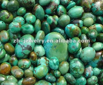 turquoise oval loose beads jewelry