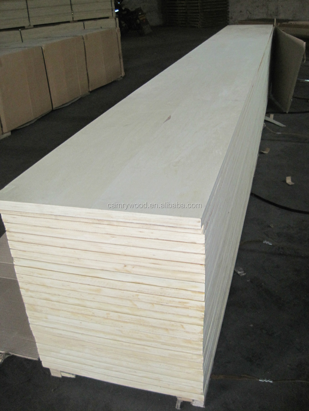 USA Standard big size the grade number 1 melamine paper laminated plywood used for Europe furniture