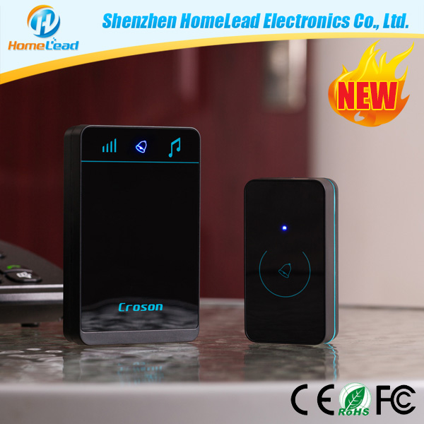2016 Fashion Style Touchbutton Doorbell with 3 levels